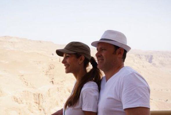 """""""Recordando el extraordinario viaje a Israel con mi @cristy_bernal aquí..."""