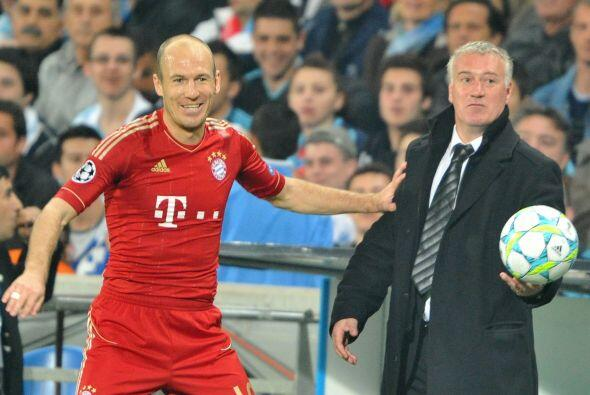 Los bávaros llegaban como faviritos ante el equipo dirigido por Didier D...