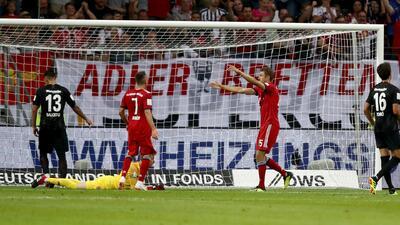 Día de pesadilla para Fabián y Salcedo tras perder la Supercopa de Alemania