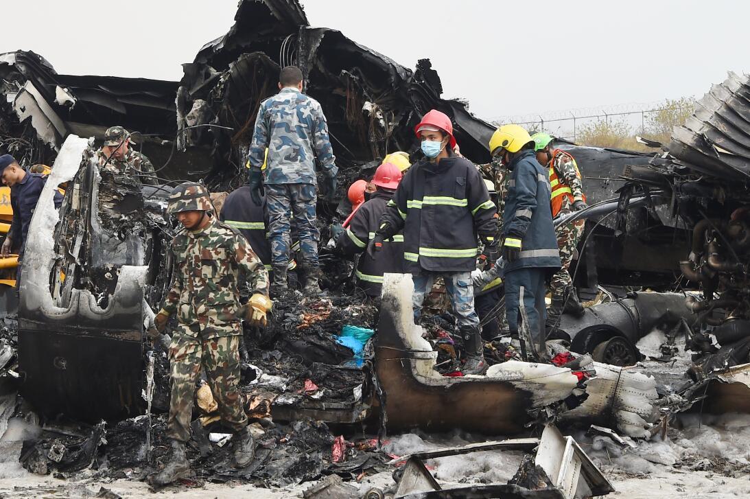 Accidente aéreo Nepal