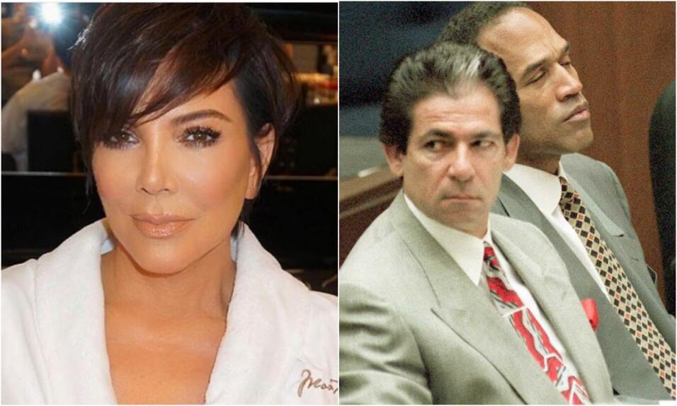 Kris Jenner Robert George Kardashian