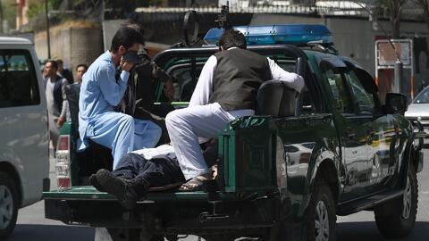 Ataque terrorista en Kabul deja una cifra de al menos 350 heridos