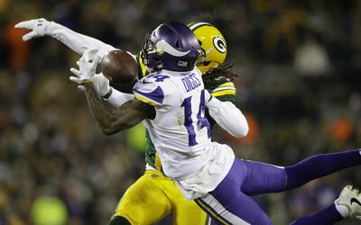 Los Vikings derrotaron 16-0 a Packers.