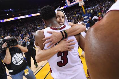 <b>Heat 118-120 Warriors: </b>después de la derrota con los Lakers, el equipo de Oakland ya suma cuatro victorias seguidas que lo tienen en el liderato del Oeste y como firme candidato a un anillo más.