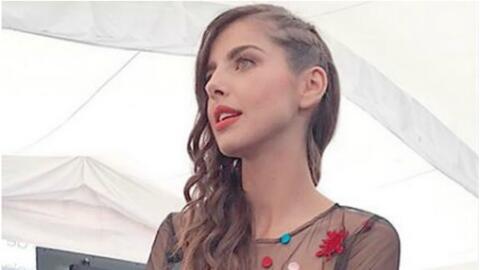 La actriz mexicana Michelle Renaud.