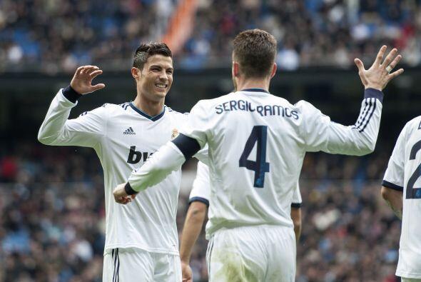 Después de ese gol, llegaron más anotaciones y Cristiano Ronaldo, quien...