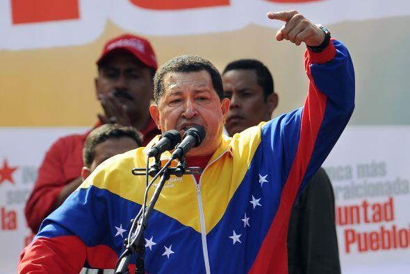 El mandatario Hugo Chávez dijo a la televisora estatal: 'Las causas no l...