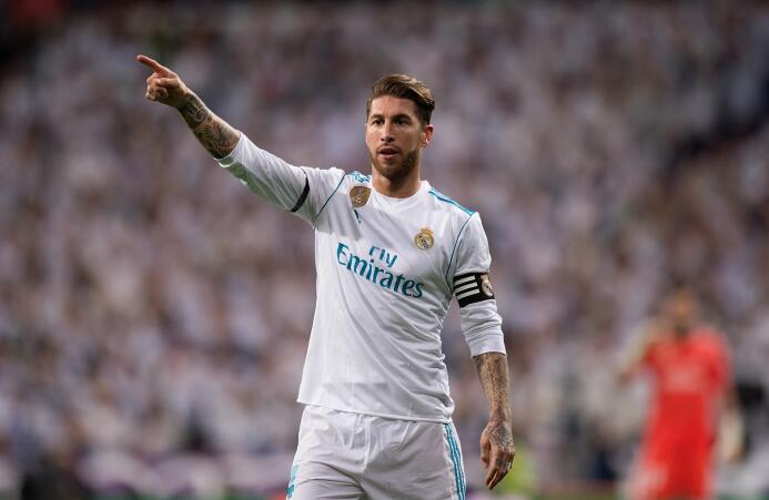 Defensa: seis veces ha estado Sergio Ramos en el Equipo del Año y cinco...