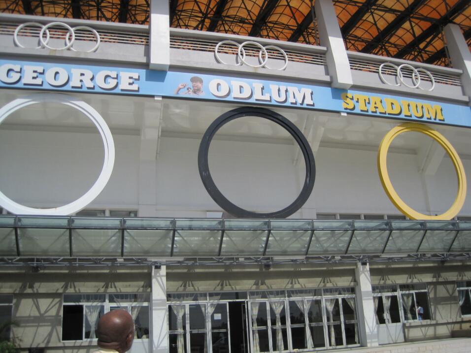 En la isla de St. Lucia, el estadio George Odlum fue financiado con apoy...