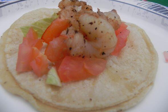 5. Tacos de mariscos