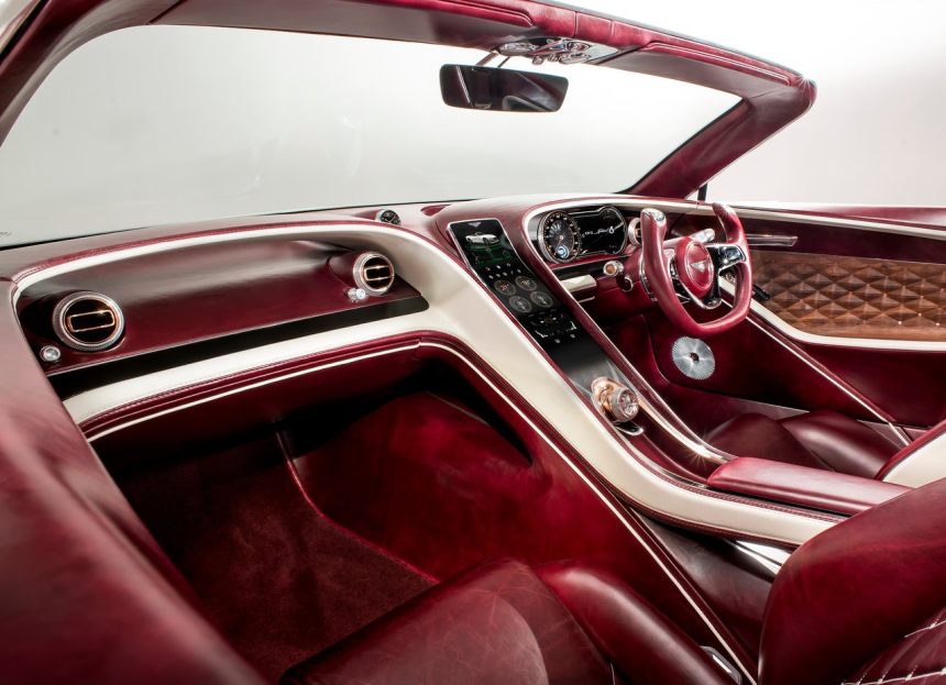 El Bentley EXP 12 Speed 6e Concept es lujo de alto voltaje Screen Shot 2...