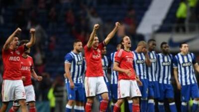 El Benfica volvió a dejar en el camino al Oporto en otro torneo.