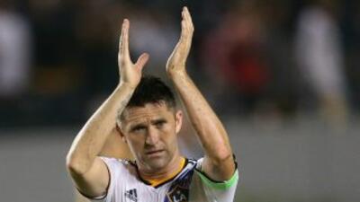 Robbie Keane, delantero de LA Galaxy celebra un gol vs Chicago Fire   6...