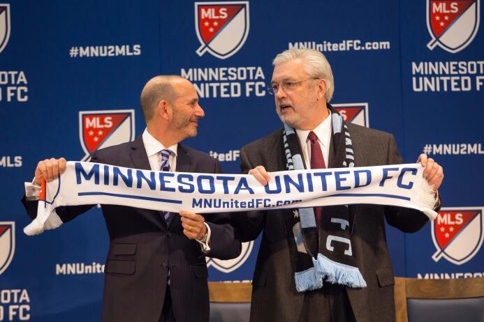 Los primeros pasos de Minnesota United FC en la MLS MIN 13 marzo 2015 US...