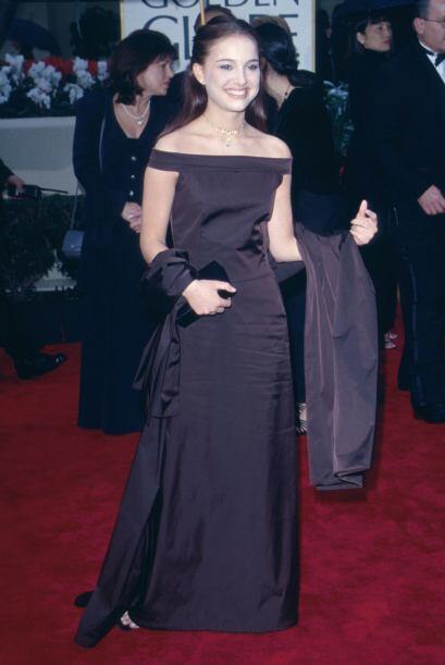 Natalie Portman lucía como toda una adolescente. En cuanto a su e...