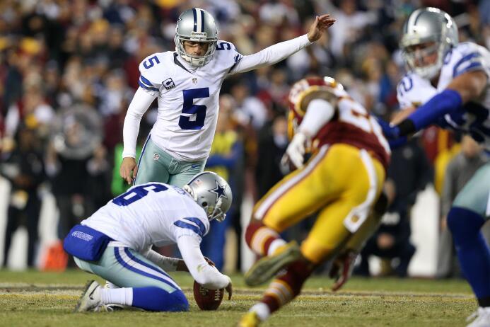 Con patada de 54 yardas, los Cowboys ganan el partido 19 a 16 a Washington