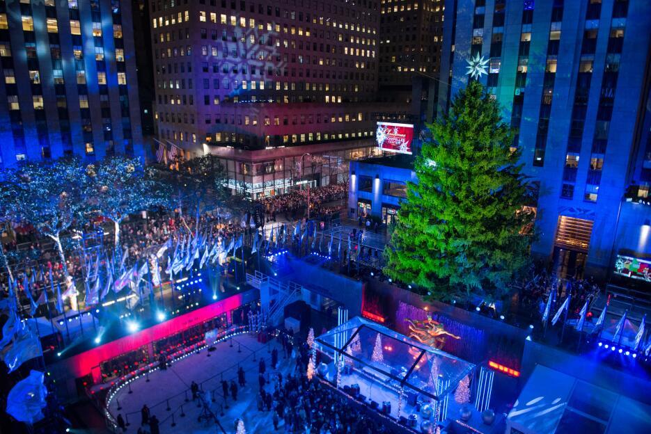 Encendido árbol del Rockefeller Center