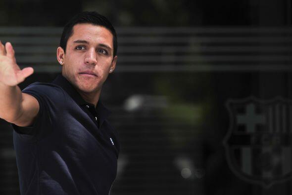 Después de haber visitado las instalaciones del Barcelona, Alexis...