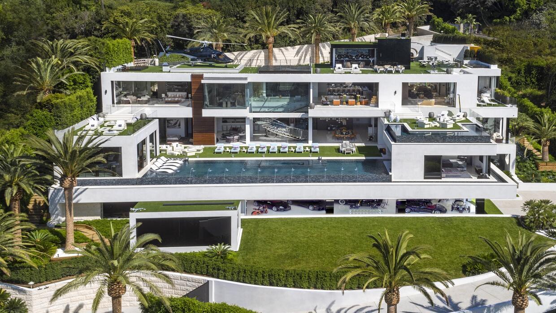 Mansión de 250 millones de dólares a la venta en Bel Air,...