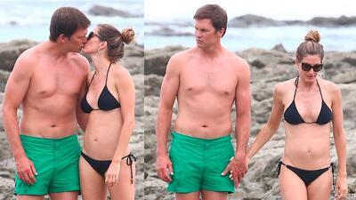 Las fotos de Tom Brady en vacaciones y su inesperado estado físico
