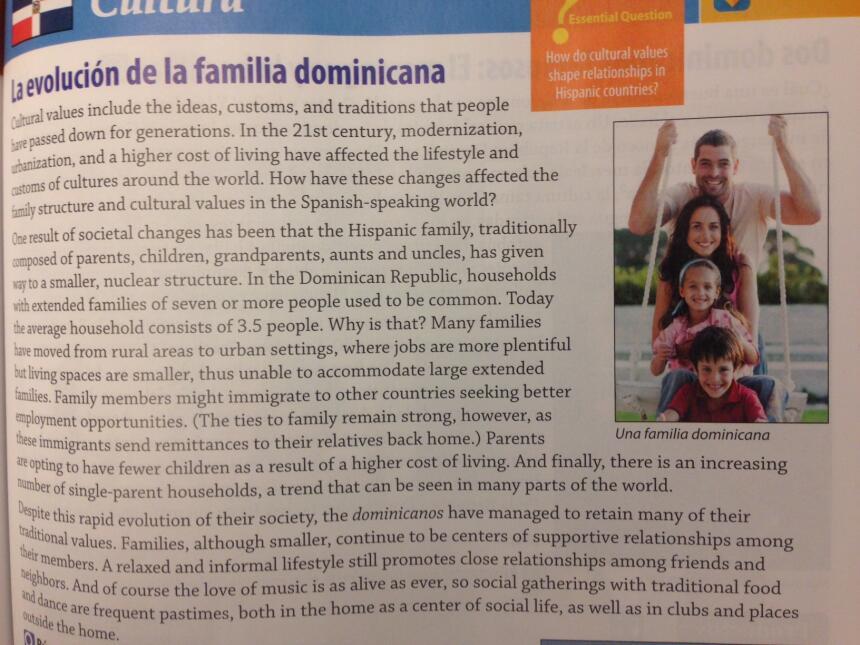 La 'evolución' de los dominicanos se debe a la reducción del tamaño de s...