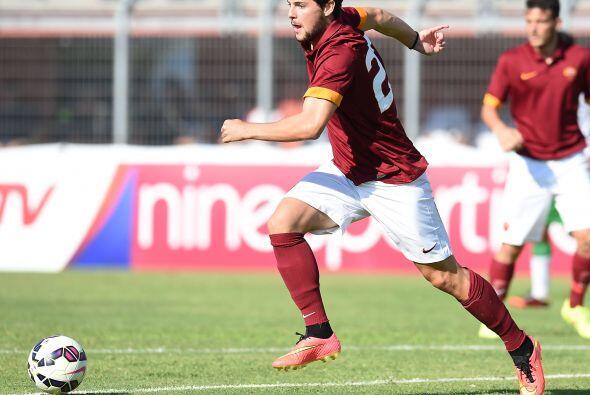 El italiano Mattia Destro ha tenido una temporada muy buena con la Roma...