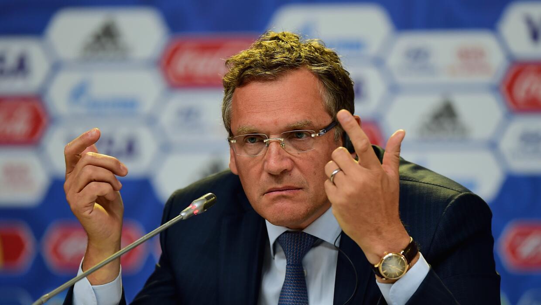 Valcke quedó fuera de la FIFA.