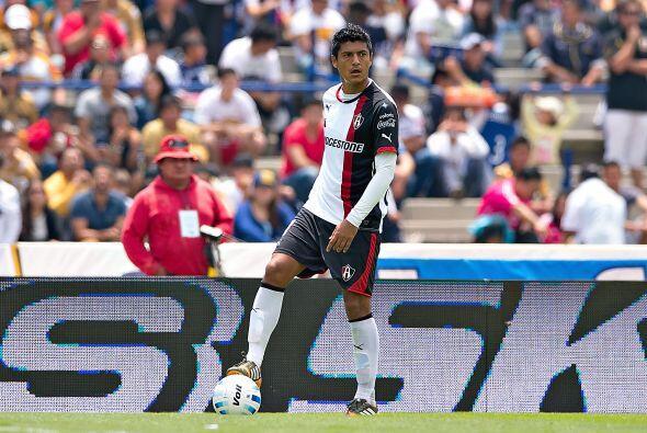 Luis Venegas, el defensor del Atlas está viviendo un buen torneo con el...