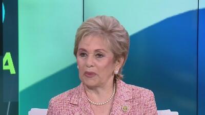 """La expresidenta de Panamá Mireya Moscoso presenta el libro """"Arnulfo Arias: El Hombre"""""""