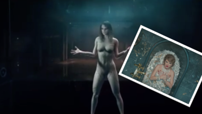 Taylor Swift se desnuda otra vez y vuelve a tirarle pullas a Kanye West