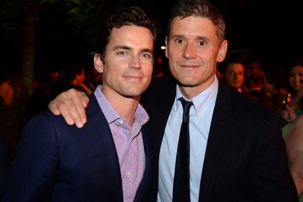 """Matt Bomer Protagoniza el programa """"White Collar"""". Tiene una relación de..."""