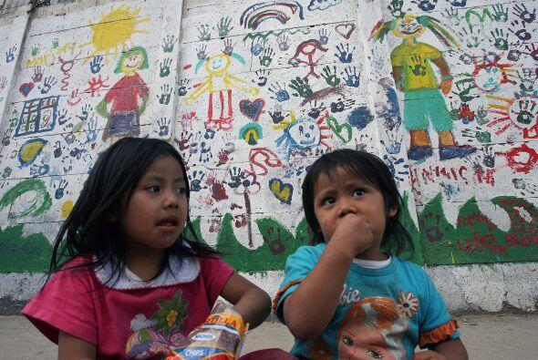 Según cifras de Naciones Unidas, el 49 por ciento de los niños guatemalt...