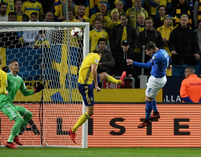 En fotos: Suecia derrotó 1-0 a Italia y pone en vilo la presencia 'azzur...