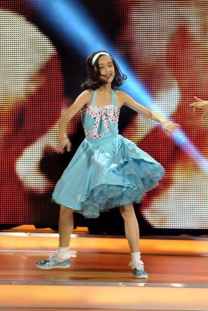Las coreografías de las pequeñas también eran complementadas, y se conve...