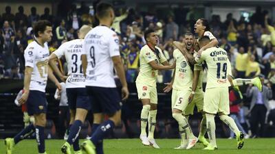 Los Pumas no sacaron las garras y las Águilas despedazaron al felino: color del 6-1 en el Azteca