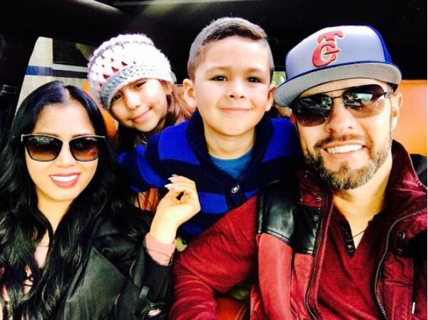 Nueva familia de Esteban Loaiza