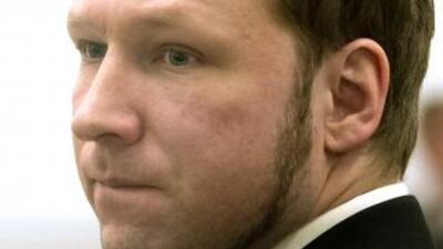 El ultraderechista Anders Behring Breivik, autor confeso de los atentado...