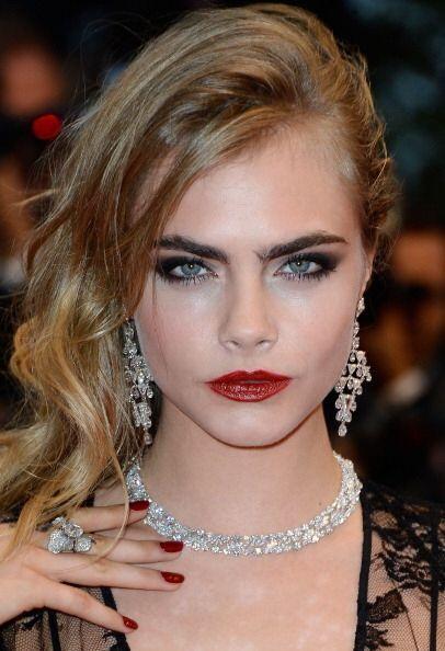 La joven modelo y actriz británica de 21 años,Cara Delevingne, tiene un...
