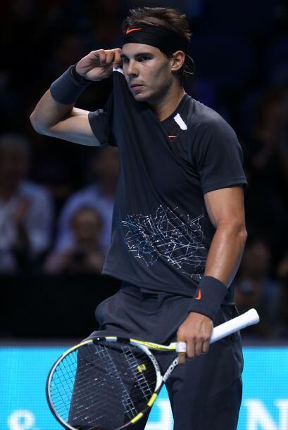 Rafal Nadal no ha tenido una buena temporada y lo demostró en este partido.