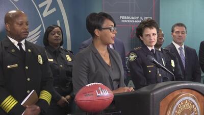 Dan a conocer plan de seguridad para el Super Bowl Llll en Atlanta
