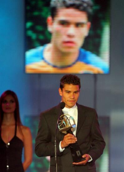 Pablo Barrera fue el que se quedó con el premio para el Apertura 2007, j...