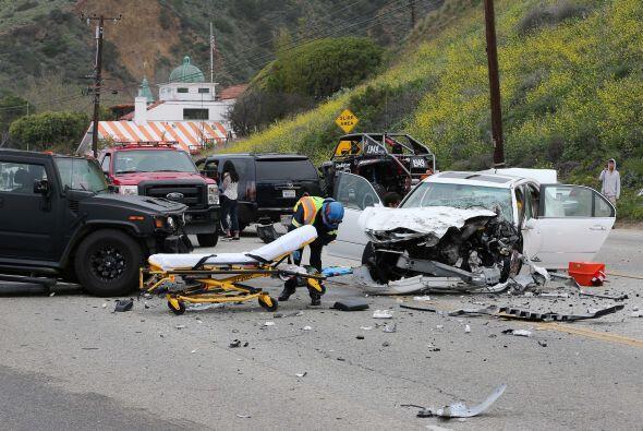 El padrastro de la Kardashian se vio involucrado en un tremendo accidente.