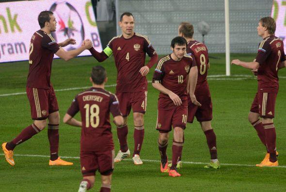 El resultado fue a favor de los rusos 2-1.