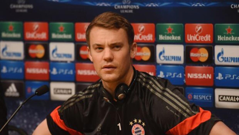 El portero del Bayern Munich habló de la Champions League en conferencia...