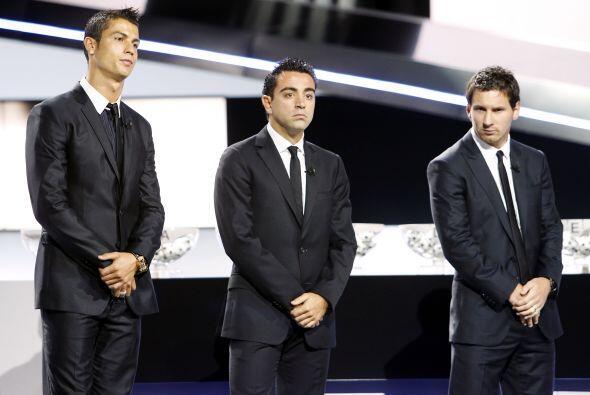 Después, se eligió al ganador del premio como Mejor Jugador de Europa se...
