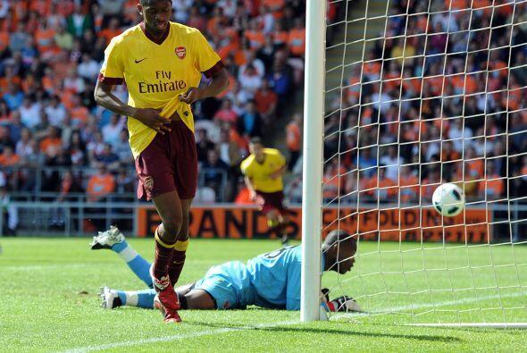 De esta manera, Arsenal se perfilaba a una victoria.