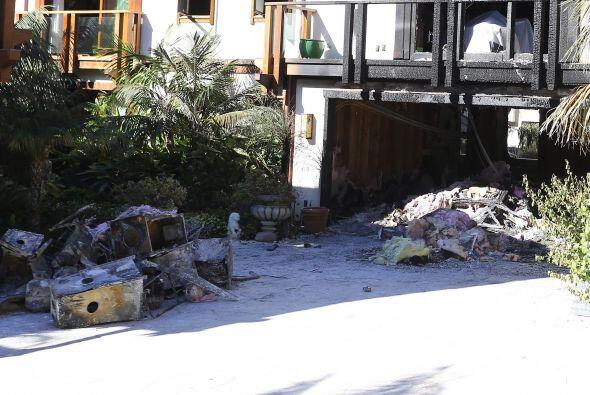 Se dice, el incendio causó daños estimados en un millón de dólares.