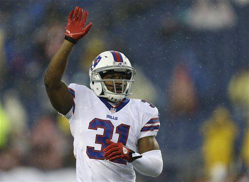 Jairus Byrd, profundo de los Buffalo Bills (AP-NFL)