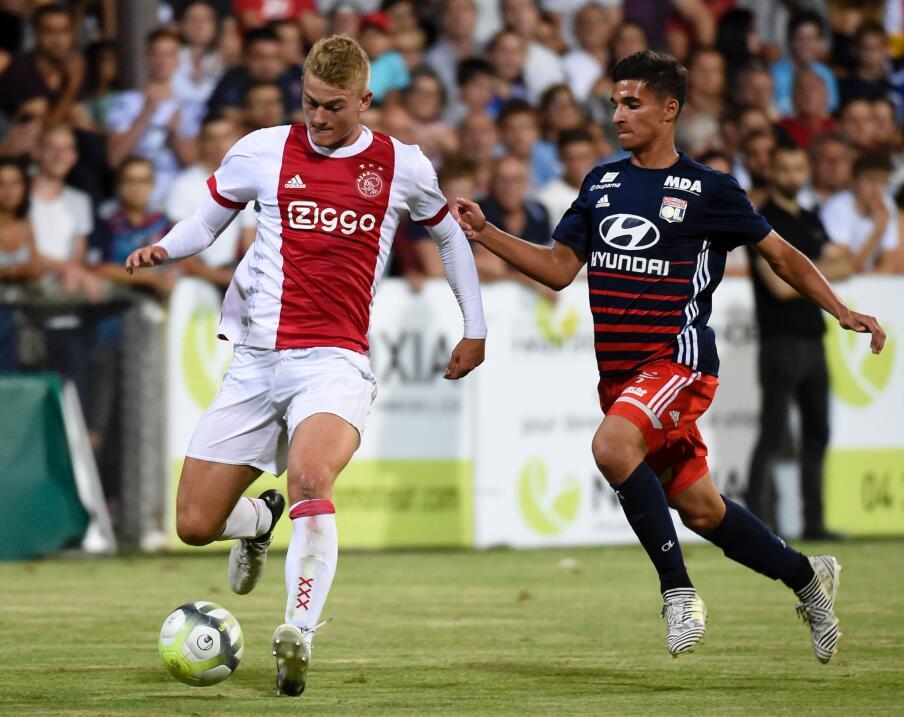 8. Matthijs de Ligt - Defensa (Holanda / A.F.C. Ajax)