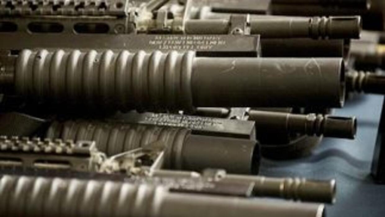 Armas de fuego.
